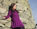Harris Tweed Tartan Coat