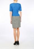 Harris Tweed Black/White mini skirt