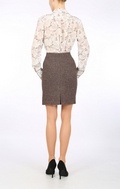 Brown Harris Tweed  mini-skirt
