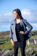 Harris Tweed herringbone jacket